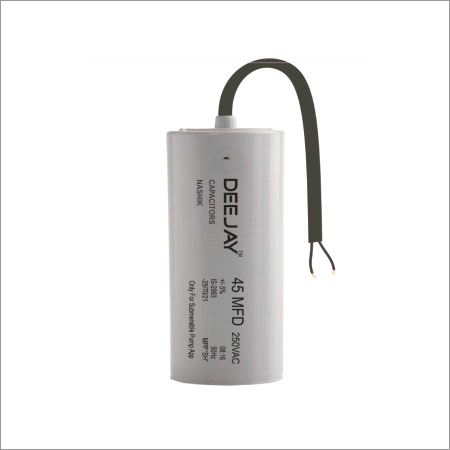 Submersible Pump Capacitor PP Can Dry Type
