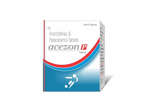Truworth Acezon P ( Aceclofenac + Paracetamol Tablet)