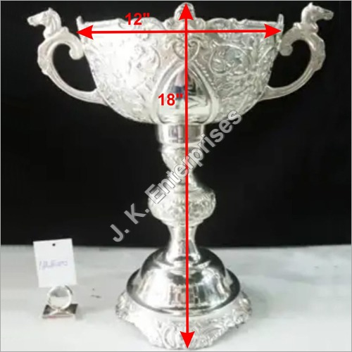 Silver Plated Army Corporate Trophy Cup