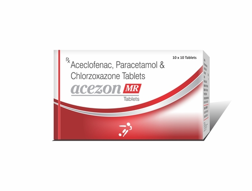 Truworth Acezon Mr (Acelofenac + Paracetamol + Chlorzoxazone Tablets )