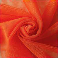 Orange Polyester Mono Net Fabric