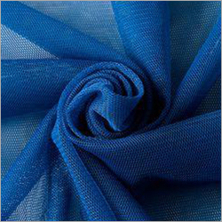 Blue Polyester Mono Net Fabric