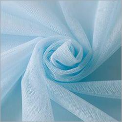 Sky Blue Polyester Mono Net Fabric