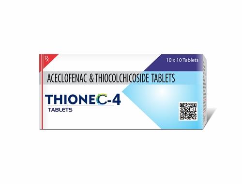 Truworth Thionec 4 (Acelofenac + Thiocolchicocide  Tablet)