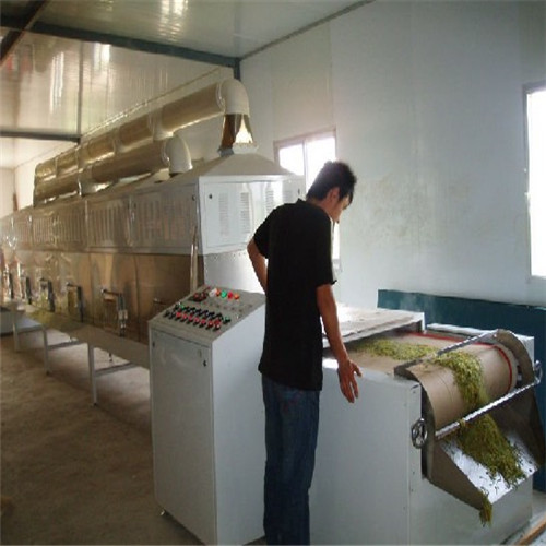 Stevia Leaf Drying Sterilization Machine