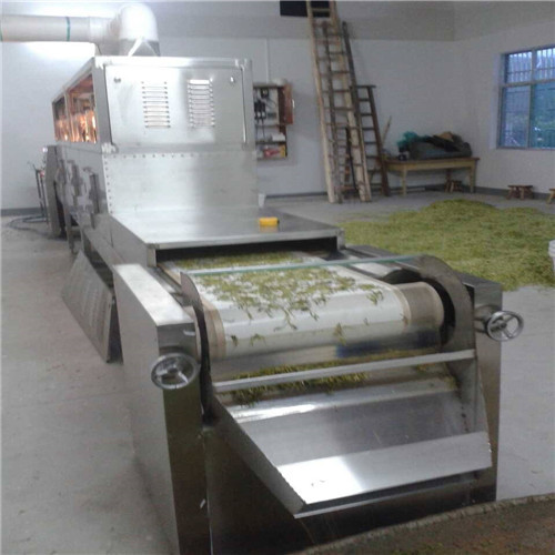 Continuous Belt Honeysuckle Drying Machine Microwave Dryer