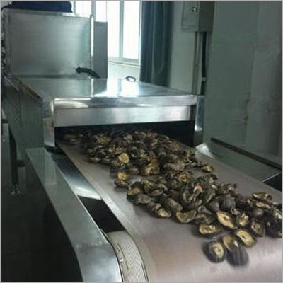 Continuous Mushroom Drying Sterilization Machine