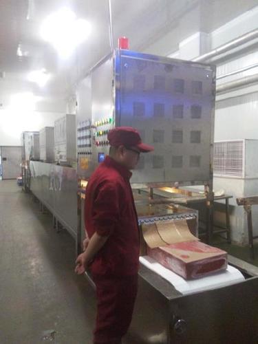 Microwave Frozen Chicken Beef Defrosting Machine