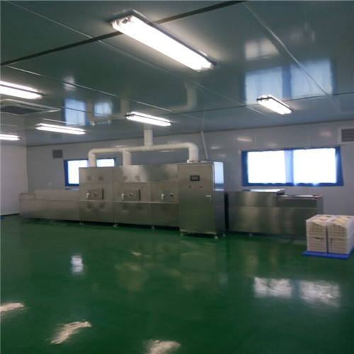 Wood Product Microwave Drying Sterilizer Machine