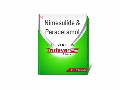 Truworth Trufever Plus (Nimesulide + Paracetamol Tablets)