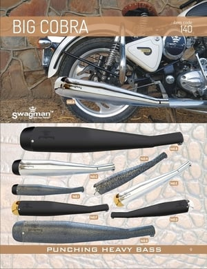 Exhaust big cobra for enfield