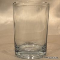 PLAIN & CLEAR GLASS TUMBLER