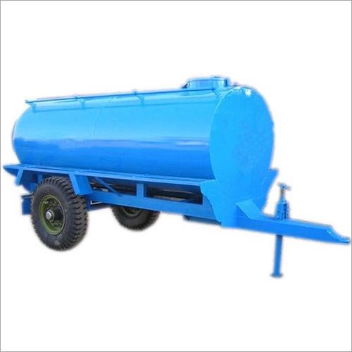 Mild Steel Sewage Tank Trolley