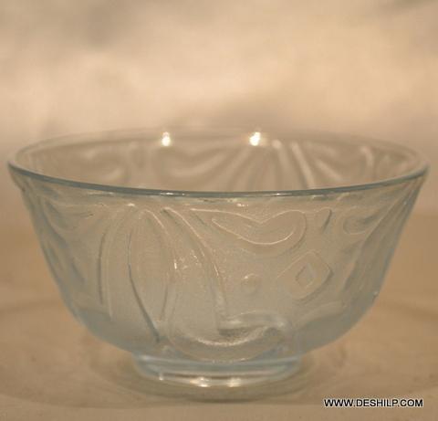 CUTTING GLASS BOWL