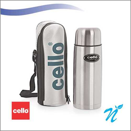 Cello Lifestyle Stainless Steel Flask (500 ml)
