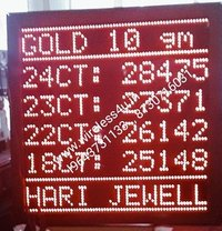 Jewellers Rate Board