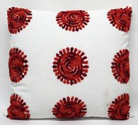 Multicolor Embroidery Cushion Cover