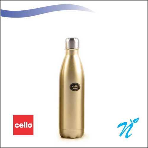 Cello Swift Steel Flask (500 ml) Golden