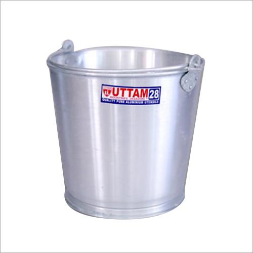 Aluminium Silver Bucket