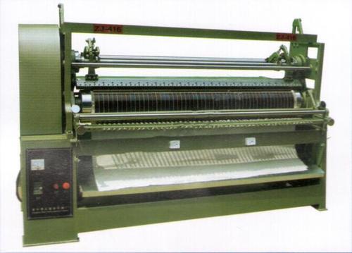 Comb Pleating Machine