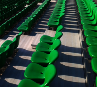 Plastic Football Stadium Chairs