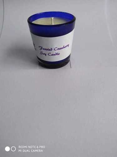 Frosted Cramberry soy  candle
