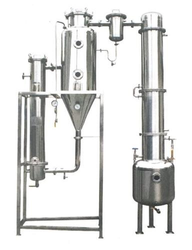 Single (Double) -effect Extrinsic Cycle Evaporator
