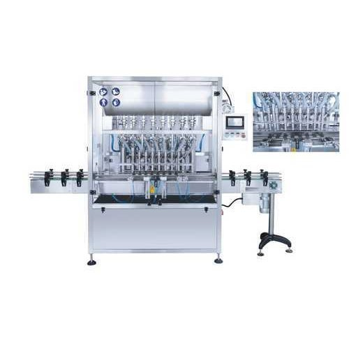8 Head Oil Filling Machine