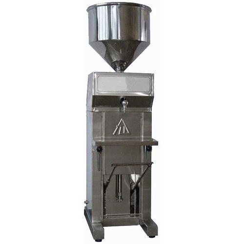 Pedal Operated Cream and Paste Filling Machine