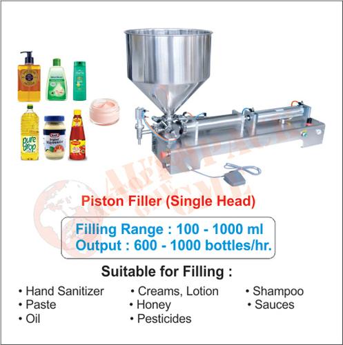 Liquid and Paste Filling Machine