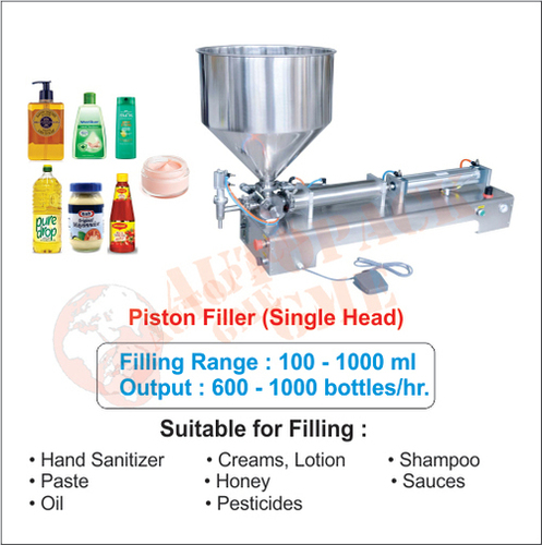 Cream Filling Machine / Liquid, Hand Sanitizer, Shampoo, Oil, Honey Filling Machine