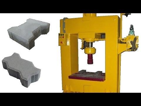 High Quality Concrete Paver Automatic Machine