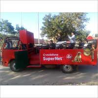Road Show Open Van Febrication