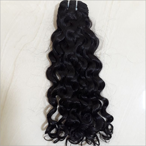 Machine Weft Deep Wavy Hair