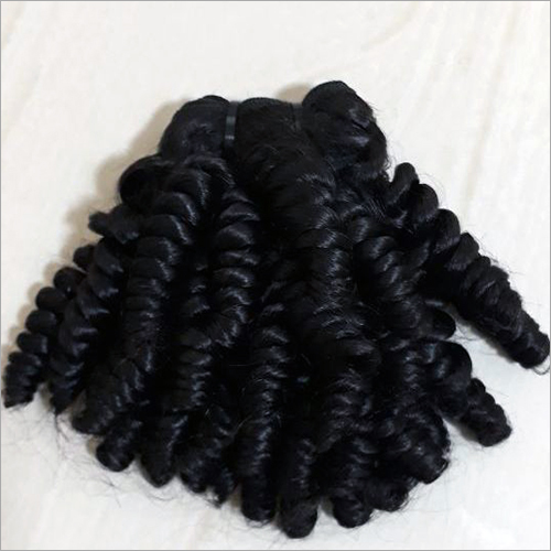 Machine Weft Kinky Curly Hair