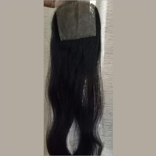 Single Drawn Straight Hair