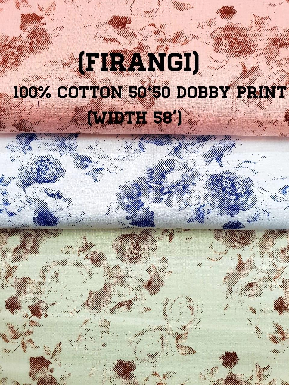 Dobby printed fabrics