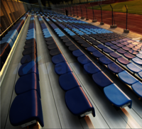 Sports Outdoor Metal Bleacher