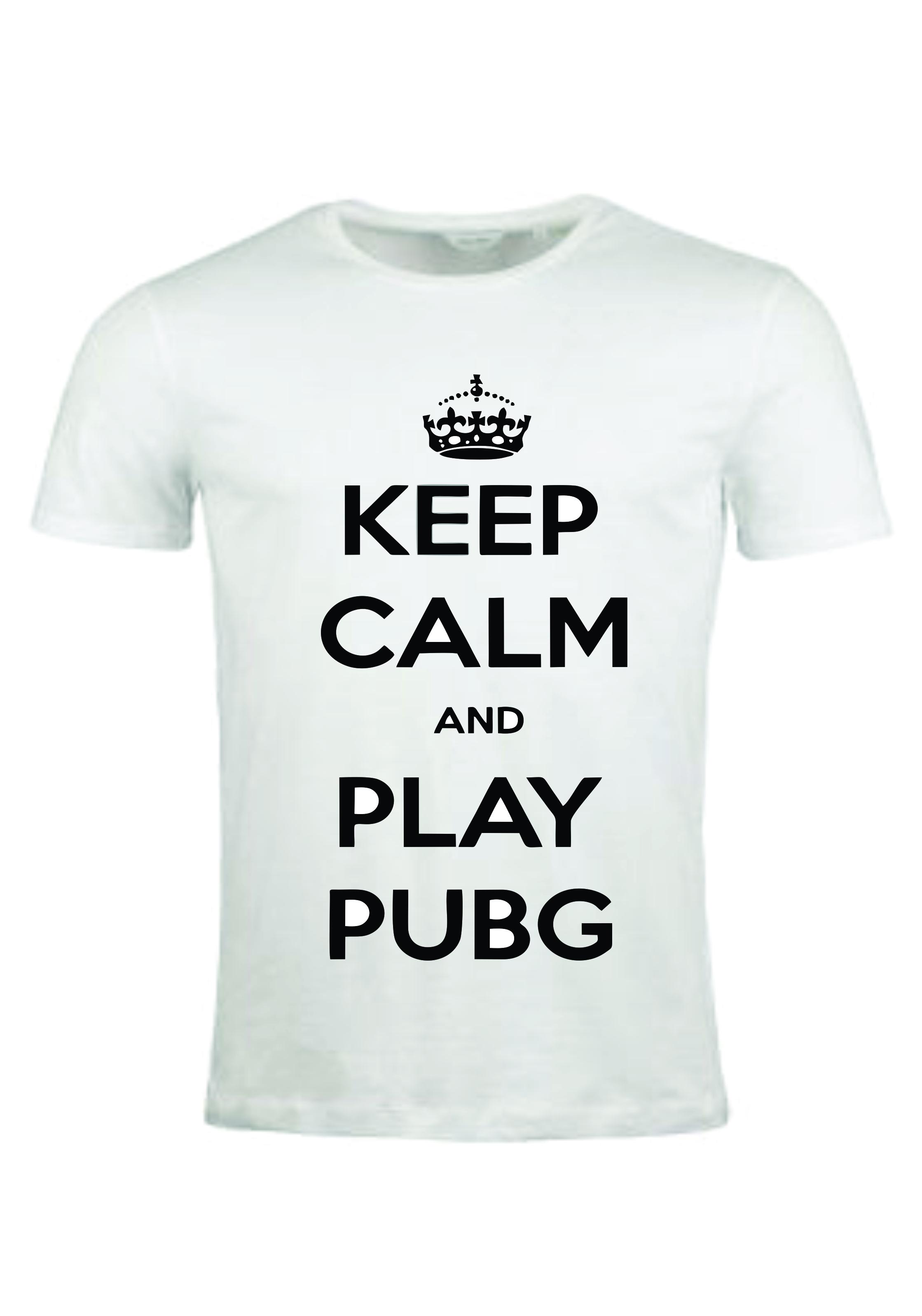 PUBG customized T-shirt