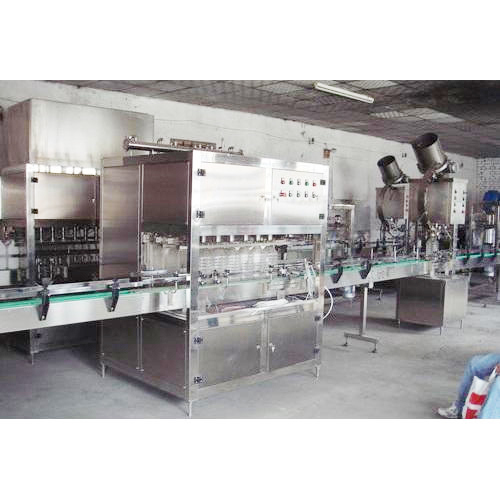Automatic Oil Filling Machine