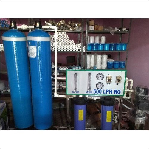 500 LPH RO Water Treatment Plant