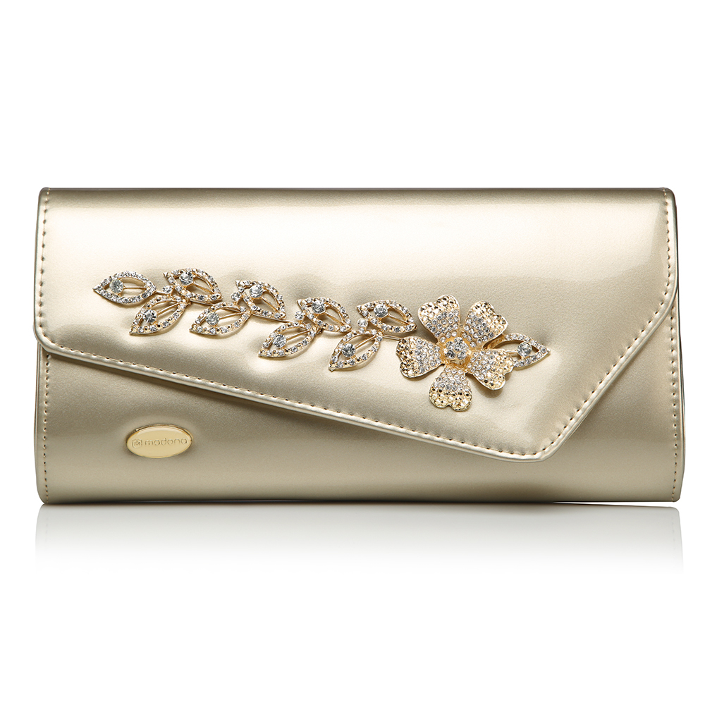 Ladies Designer Leather Clutch