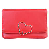 Ladies Plain Leather Clutch