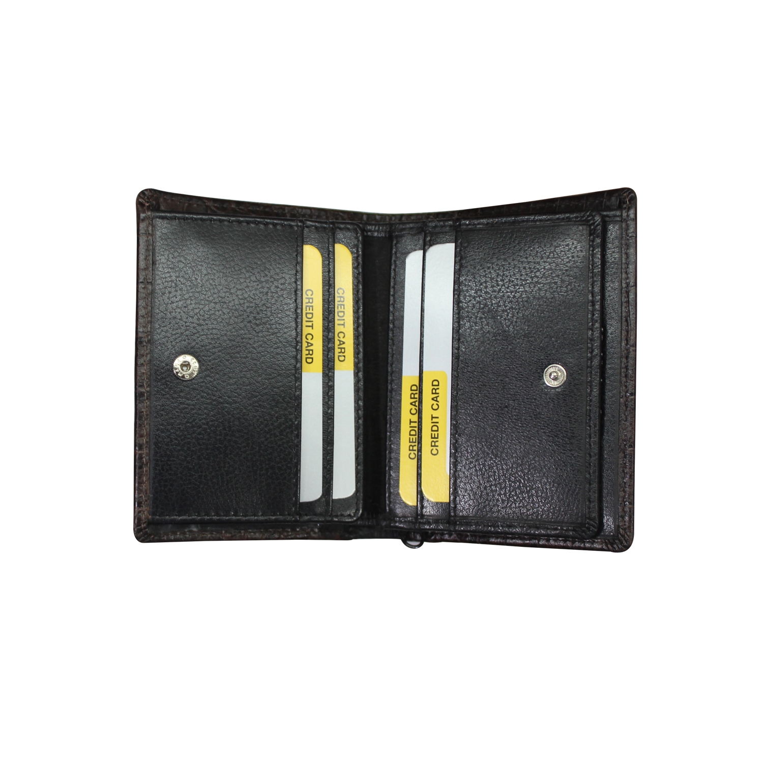 RFID Leather Standing Wallet For Men