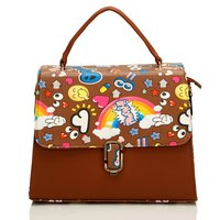 Ladies Designer Print Handbag