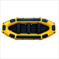 Yellow and Black Inflatable Raft Boat, river 4 rafts,330cm