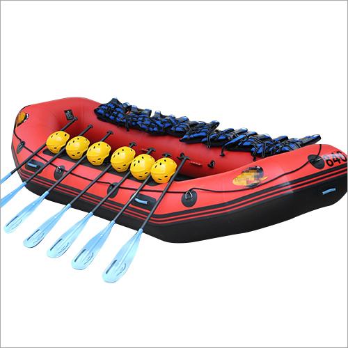 Water Raft Boat, sport raft, life raft, red white raft
