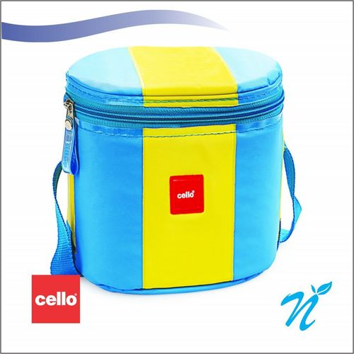 Cello Khaopiyo Lunch packs (3 Container) LT.Blue