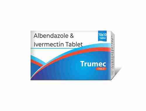 Truworth Trumec Tab (Albendazole, Ivermectim Tab)