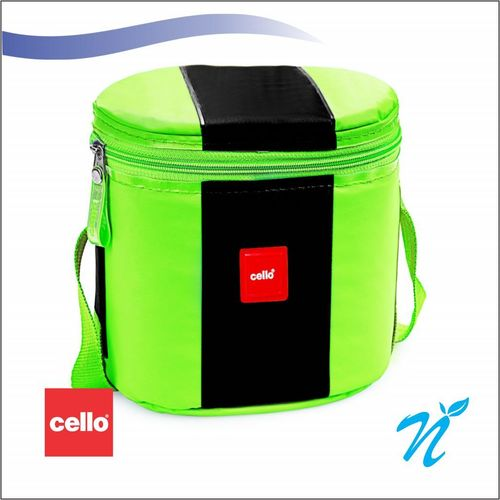 Cello Khaopiyo Lunch packs (3 Container) Green